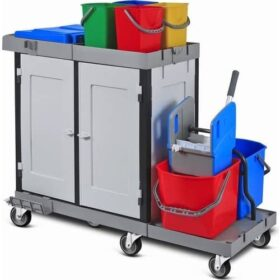 PLASTIC SERVING TROLLEY